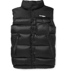 Moncler Genius 7 Moncler Fragment Abene Quilted Printed Shell Down Gilet