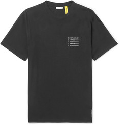 Moncler Genius 7 Moncler Fragment Printed Cotton-Jersey T-Shirt