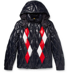 Moncler Genius 7 Moncler Fragment Leeming Quilted Shell Hooded Jacket
