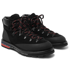 Moncler Genius - 7 Moncler Fragment Suede, Leather and Rubber Boots