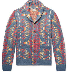 Faherty Shawl-Collar Cotton-Blend Cardigan