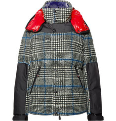 Moncler Genius - 3 Moncler Grenoble Palu CORDURA-Panelled Stretch-Cotton Velour Down Ski Jacket