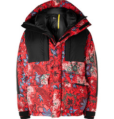 Moncler Genius - 3 Moncler Grenoble Girdwood Floral-Print Quilted Hooded Down Ski Jacket
