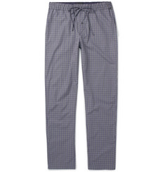 Hanro - Checked Cotton Pyjama Trousers