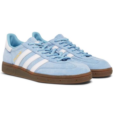 size 40 e8a2f 80b05 adidas OriginalsHandball Spezial Leather-Trimmed Suede Sneakers