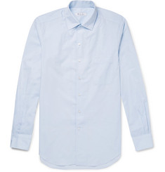 Loro Piana Andre Cotton-Poplin Shirt