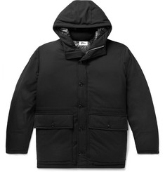 Pilgrim Surf + Supply Roethke CORDURA Combat Wool-Blend Ripstop Hooded Down Jacket