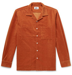 Pilgrim Surf + Supply Camp-Collar Cotton-Blend Corduroy Shirt