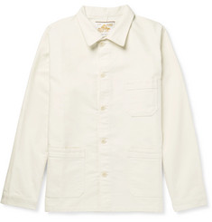 Le Mont Saint Michel - Cotton-Moleskin Chore Jacket