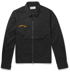 Universal Works Embroidered Cotton-Twill Jacket