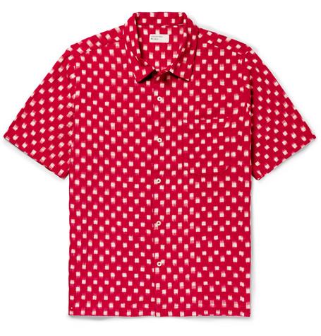 UNIVERSAL WORKS Ikat Cotton Shirt