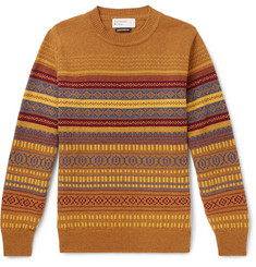 Universal Works - Fair Isle Wool-Blend Sweater
