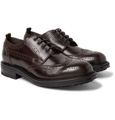 Dunhill - Traction Leather Wingtip Brogues