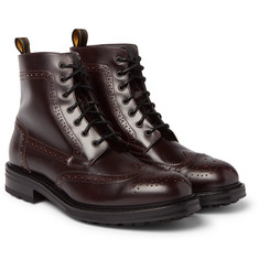 Dunhill - Leather Brogue Boots