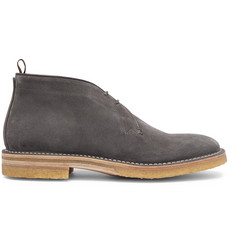 Dunhill Suede Chukka Boots