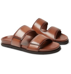 Dunhill Leather Slides