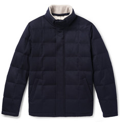 Loro Piana - Storm System Quilted Cashmere and Cotton-Blend Down Jacket