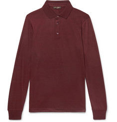 Loro Piana Cashmere Polo Shirt