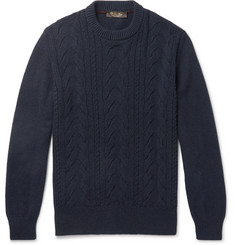 Loro Piana - Cable-Knit Baby Cashmere Sweater