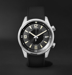Jaeger-LeCoultre - Polaris Date 42mm Stainless Steel and Rubber Watch