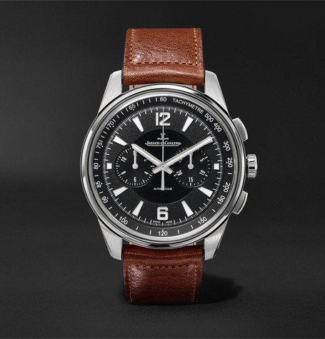 Jaeger-LeCoultre Polaris Chronograph 42mm Stainless Steel and Leather Watch, Ref. No. Q9068670