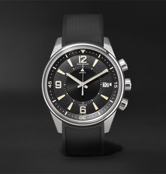 Jaeger-LeCoultre Limited Edition Polaris Memovox 42mm Stainless Steel and Rubber Watch