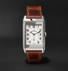 Jaeger-LeCoultre Reverso Classic Large 27mm Stainless Steel and Leather Watch