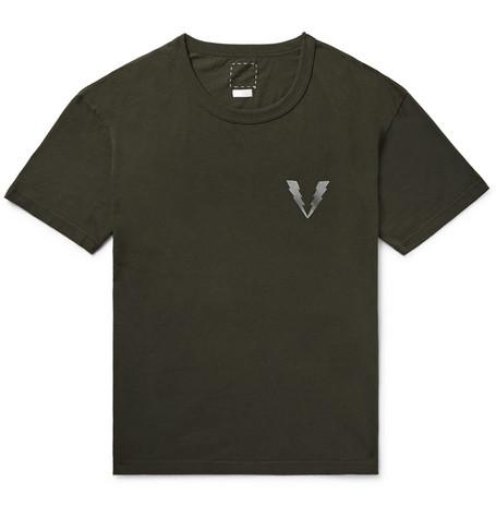 10f851afa8501 visvim - Logo-Print Cotton-Jersey T-Shirt