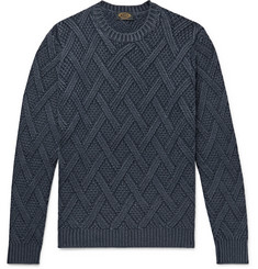 Tod's Cable-Knit Wool Sweater
