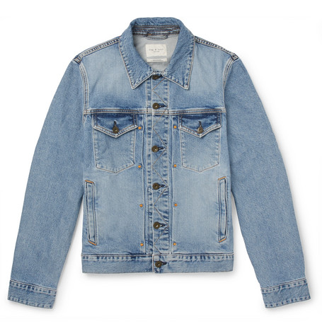 Definitive Slim Fit Denim Jacket by Rag &Amp; Bone