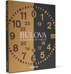 Assouline - Bulova: A History of Firsts Hardcover Book