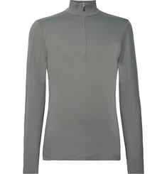 Bogner - Harrison Slim-Fit Stretch-Jersey Half-Zip Base Layer