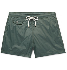 Hartford Boxer Mid-Length Shell Swim Shorts
