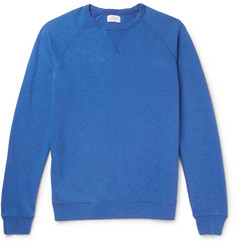 Hartford - Mélange Loopback Cotton-Jersey Sweatshirt