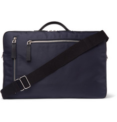 Tod's - Leather-Trimmed Ripstop Briefcase