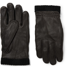 Hestra - Fleece-Lined Full-Grain Leather Gloves