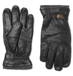 Hestra - Utsjö Fleece-Lined Full-Grain Leather Gloves