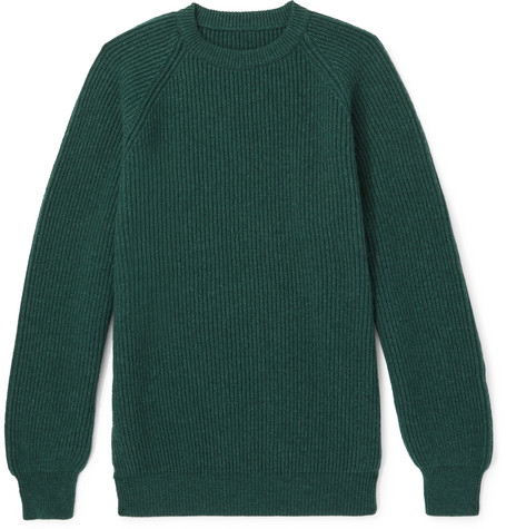 ANDERSON & SHEPPARD Ribbed Cashmere Sweater