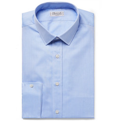 Charvet - Blue Cotton-Twill Shirt