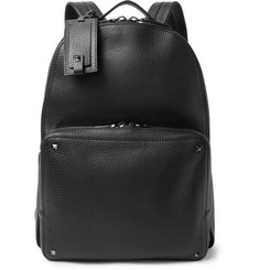 Valentino Valentino Garavani Rockstud Full-Grain Leather Backpack