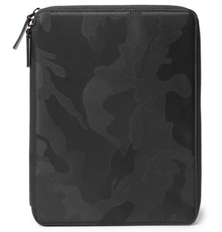 Valentino Garavani Camouflage-jacquard Shell Tablet Case