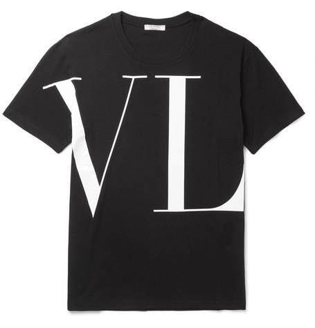 VALENTINO Vltn Logo Zip-Up Cotton Sweatshirt, Black