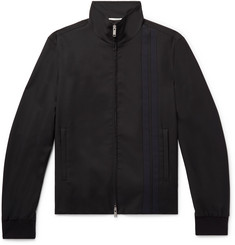 Valentino Slim-Fit Striped Wool-Blend Track Jacket
