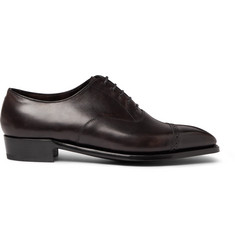 George Cleverley Nakagawa Cap-Toe Leather Oxford Shoes