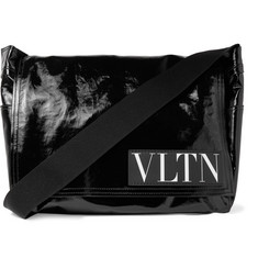 Valentino Valentino Garavani Coated-Twill Messenger Bag