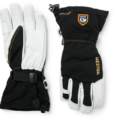 Hestra Army Leather and GORE-TEX Ski Gloves