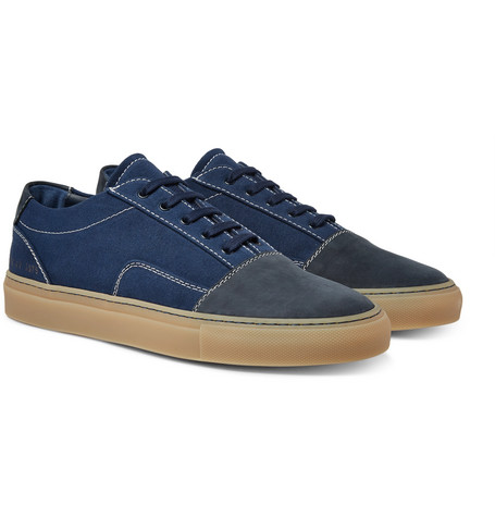 Common Projects Cap-Toe Canvas and Nubuck Sneakers amazing price for sale ckqFiIEfVn