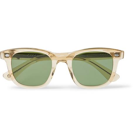 Calabar 49 Square Frame Acetate Sunglasses by Garrett Leight California Optical