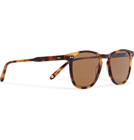 86c026d7177 GARRETT LEIGHT CALIFORNIA OPTICAL BROOKS 47 D-FRAME TORTOISESHELL ACETATE  SUNGLASSES