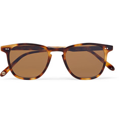 Garrett Leight California Optical Brooks 47 D-Frame Tortoiseshell Acetate Sunglasses